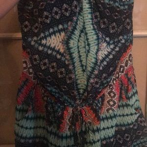 BeBop Other - Colorful Romper WITH pockets!